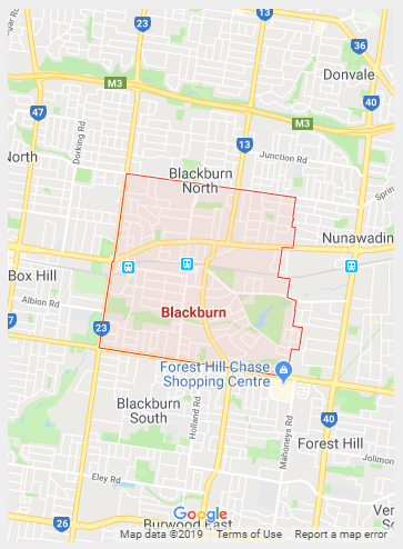 Blackburn Map