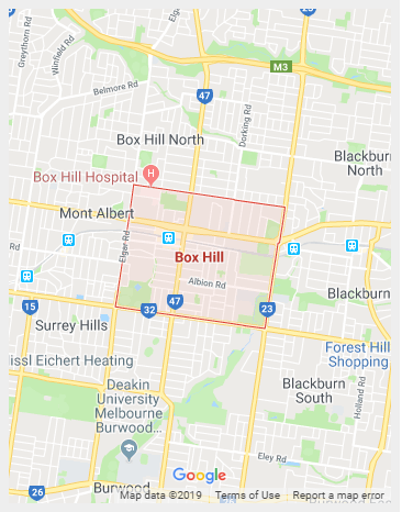 Box hill Map